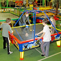 4-way Airhockey